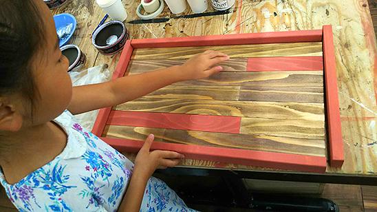 木製モザイクトレーを作ってみました!〈坂本家〉