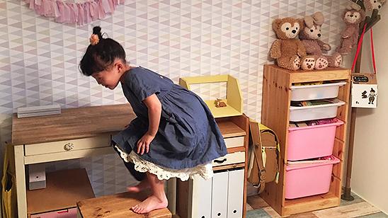 輸入壁紙で子供部屋を可愛く!