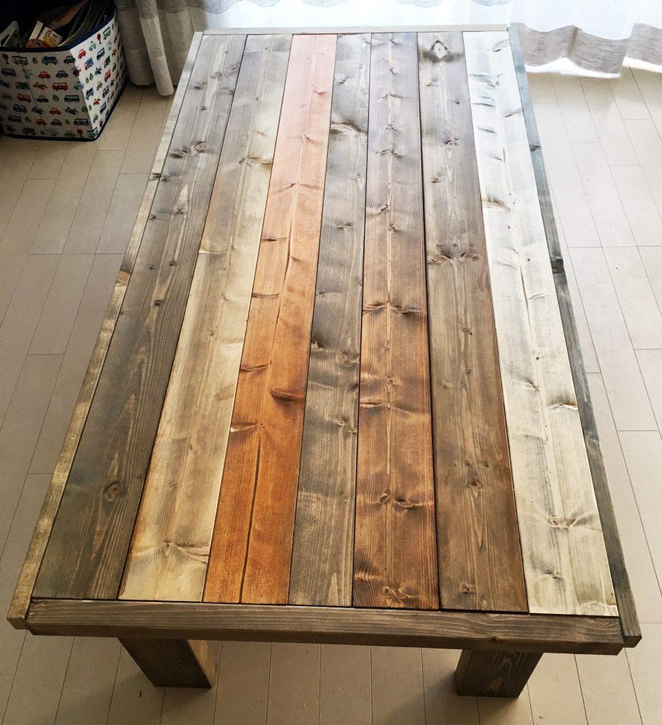 リビング用ローテーブルを作ってみた!〈高橋家〉