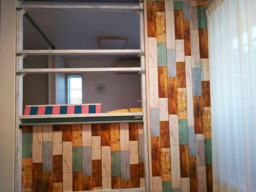 子供部屋大改造③ラブリコで仕切りを作って、姉弟それぞれのお部屋が誕生!〈坂本家〉