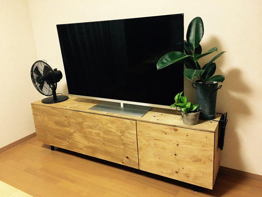 カラーボックスリメイク④わがまま満載のテレビボード〈小野家〉