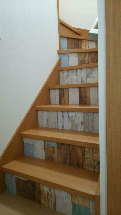 #12.自宅の階段にマスキングテープを貼ってリメイク!〈スタッフ森口〉