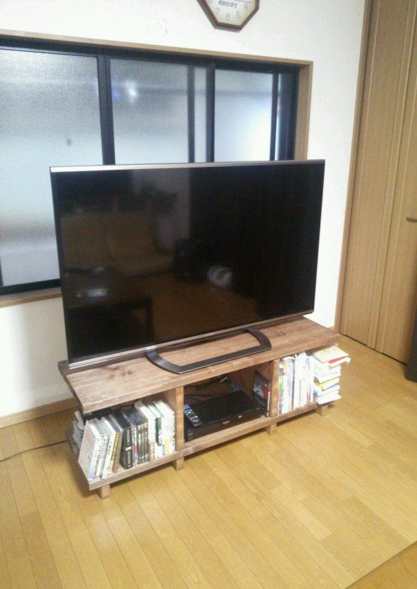 ♯7.木材と金具でオリジナルテレビボード作り!〈スタッフ中西〉