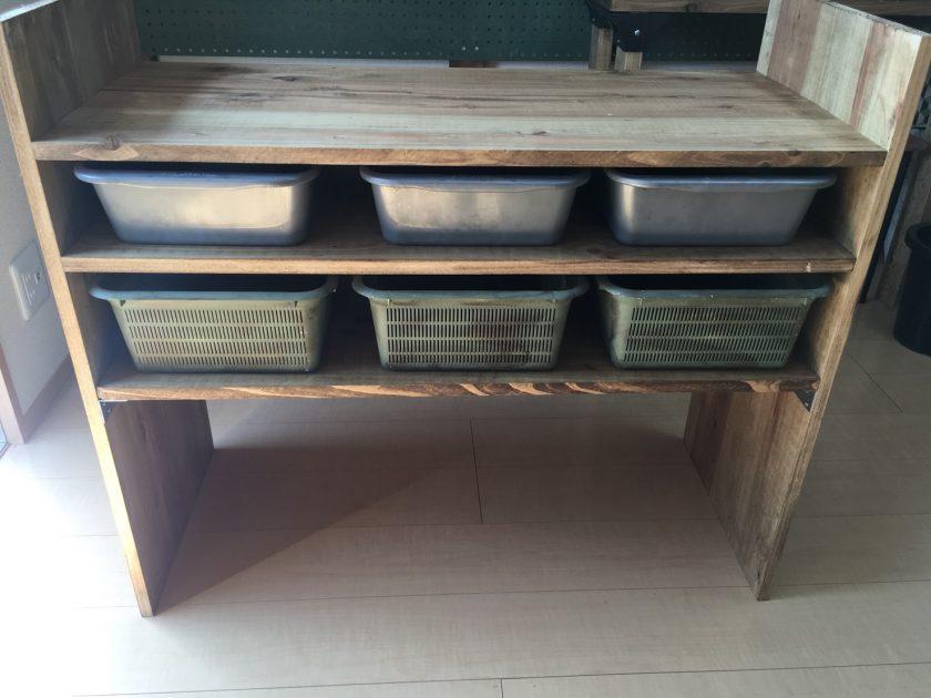 男前な男部屋DIY⑥「隠す収納用のオリジナル収納棚(大)を作りました」〈武田家〉