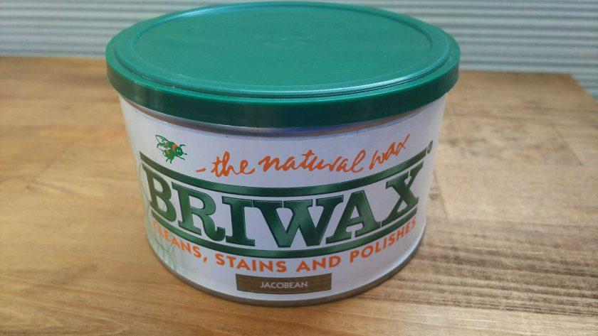 BRIWAXで、サイドテーブルを男前カラーにリメイク!〈坂本家〉