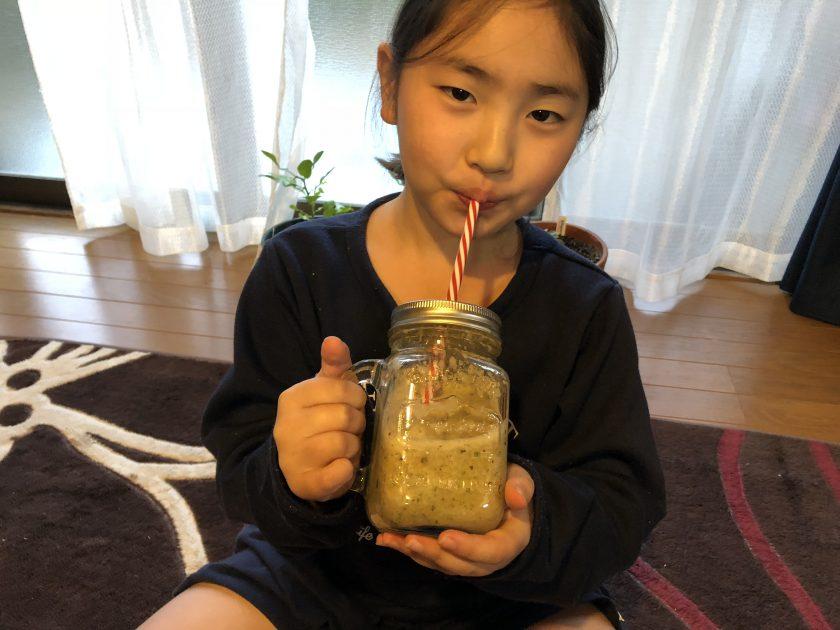 育てて食べよう18「お庭のハーブを収穫してスムージーを作ってみました」<小松家>